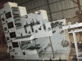 Máquina de impressão da etiqueta de Flexo com o 320/480 cortando e de corte