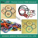Scellement clair de joint circulaire de silicone d'OEM de Wholesasle
