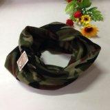 Fazzoletto da collo militare lavorato a maglia panno morbido verde della sciarpa dello scaldino del collo del panno morbido dell'esercito