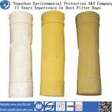 Nonwoven пробитый иглой мешок пылевого фильтра Fms воды и масла фильтра Repellent для индустрии