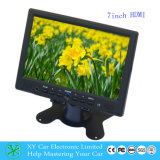 7 duim Car Rear View LCD Monitor, TFT HD met HDMI Input