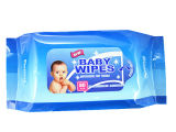 Mão-Boca do bebê que limpa a fábrica molhada molhada de China dos Wipes do cuidado de pele da venda por atacado do tecido