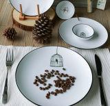 Plaque de dîner bon marché de porcelaine de Chine d'os de qualité 10 pouces