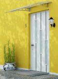Pabellón/persianas del toldo del policarbonato vertidas para Windows& Puerta-Ea