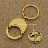 Customized Logoの金属Key Chain Coin Holder