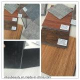 Plancher de marbre en bois de vinyle de clic de PVC de protection de l'environnement de modèle de tapis