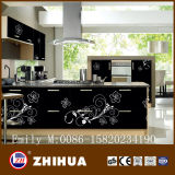Kitchen Cabinet Door를 위한 Design 현대 Flower UV MDF