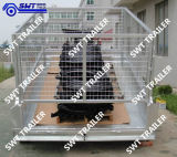Qualität Hydraulic Tipping Trailer mit Cage (SWT-HTT8*5)