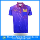 Изготовленный на заказ Fashion Dye Sublimation Printing Polo Tshirt для Knitted Clothing