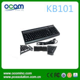 Clavier programmable de 101 touches avec lecteur de carte optionnel (KB101)