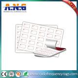 Kundenspezifische Plastikpassive RFID Einlegearbeit des blatt-13.56MHz mit IS-Chip