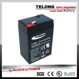 Nachfüllbares Power Battery (6V 6ah Lead Acid Battery)