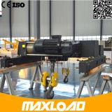 16トンの二重ガードワイヤーロープの電気起重機(MLER16-06D)