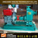 Pompe auto-amorçante d'eaux résiduaires d'évacuation de série du ZW pour le site de génie civil