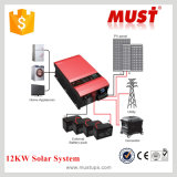 Generator를 위한 120A Charger를 가진 12kw Low Frequency Hybrid Solar Inverter