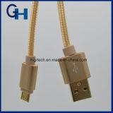 La fábrica directamente de 2 en 1 multi del cable del cargador de datos Cable de datos USB flexible para Android y el IOS del teléfono celular
