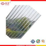 Jungfrau-materielle geschützte Polycarbonat-Solaruvblätter 100%