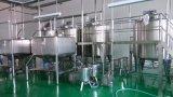 De Koelere Tank van de Melk van het roestvrij staal met Open