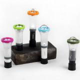 2 en 1 linterna plegable de la linterna de un estroboscópico que acampa más dévil LED