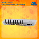 8つのチャネルGSM GatewayかVoIP Gateway With 8 GSM Quad Band