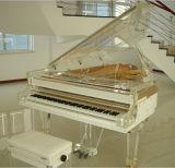 中国の現代星のホテルの寝室のレストランの家具のアクリルのグランドピアノ