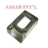 CNC feito sob encomenda da precisão peça de metal que faz à máquina, do giro & da trituração