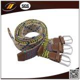 贅沢なポリエステル編みこみの伸縮性があるベルトによって編まれるベルト