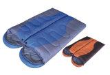 屋外のキャンプの歩く寝袋のためのプラシ天の寝袋