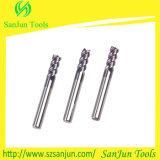CNC Lethe Machine를 위한 텅스텐 Solid Carbide Square Endmill