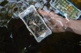 Caso de alumínio do quadro do metal de R-Just Gundam Rj-02 para iPhone6