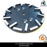 piatto di molatura del pavimento del diamante di 250mm 20 Seg
