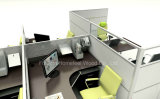 Раскройте Linear Office Workstation с Melamine Manager Desk (HF-YZ0103)