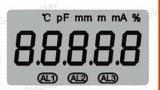 Stnの青い陰性2X16 LCDのデータ用紙