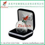 Металл с покрытием искусственная кожа Медаль Box