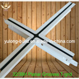 Работа решетки t для потолка PVC