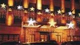 Kroon van LEIDEN Lit van Kerstmis de Pre voor de Decoratie van de Vakantie