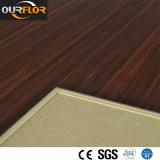 Suelo resistente del azulejo de suelo del vinilo del tecleo de la alta mancha de óxido WPC WPC