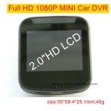 Câmara de vídeo barata do carro de 2.0 polegadas mini com Novatek96650 o processador central, câmera DVR-2002 do carro de FHD1080p