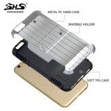 com a caixa nova do telefone de pilha da forma do projeto da sustentação para o iPhone 6