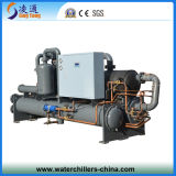 Refrigerador de refrigeração água do parafuso da baixa temperatura (- 20C)