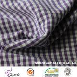 Tecido tingido de fios catiônicos para camisa