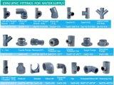 Te del igual de la instalación de tuberías del PVC del estruendo de De20 De25 De32