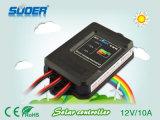 Controlador solar da carga de Suoer 12V 10A PWM (ST-F1210A)