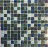 床タイル(FYSCL034)のための混合されたカラー水晶タイルのガラスモザイク