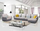 Sofà d'angolo stabilito del sofà del tessuto della mobilia del salone