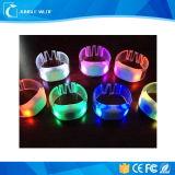 3PCS super helle LED AAA angeschaltene blinkende LED RFID Wristbands (Funktion 10hours)