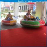 Parque de atracciones para los adultos y de los niños 2-3 de las personas 24V 55ah de la potencia el coche de parachoques inflable del cepillo no