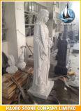 손에 의하여 성자 바바라 새겨지는 주문 동상
