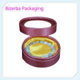 Kundenspezifischer Qualitäts-runder verpackenschmucksache-Kasten