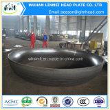 Grandi protezioni di estremità cape ellissoidali del tubo del acciaio al carbonio del diametro